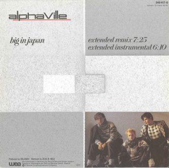 """Alphaville Big in Japan 12"""""""